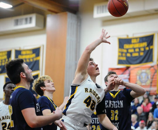 Elco's Braden Bohannon became the fifth player in the school's boys basketball history to reach 1,000 career points on Thursday night.