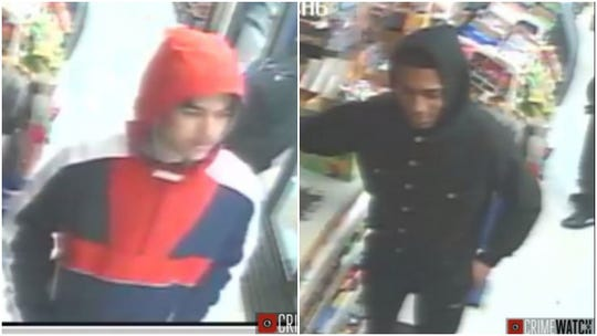York City Police Department officers are trying to identify these individuals.