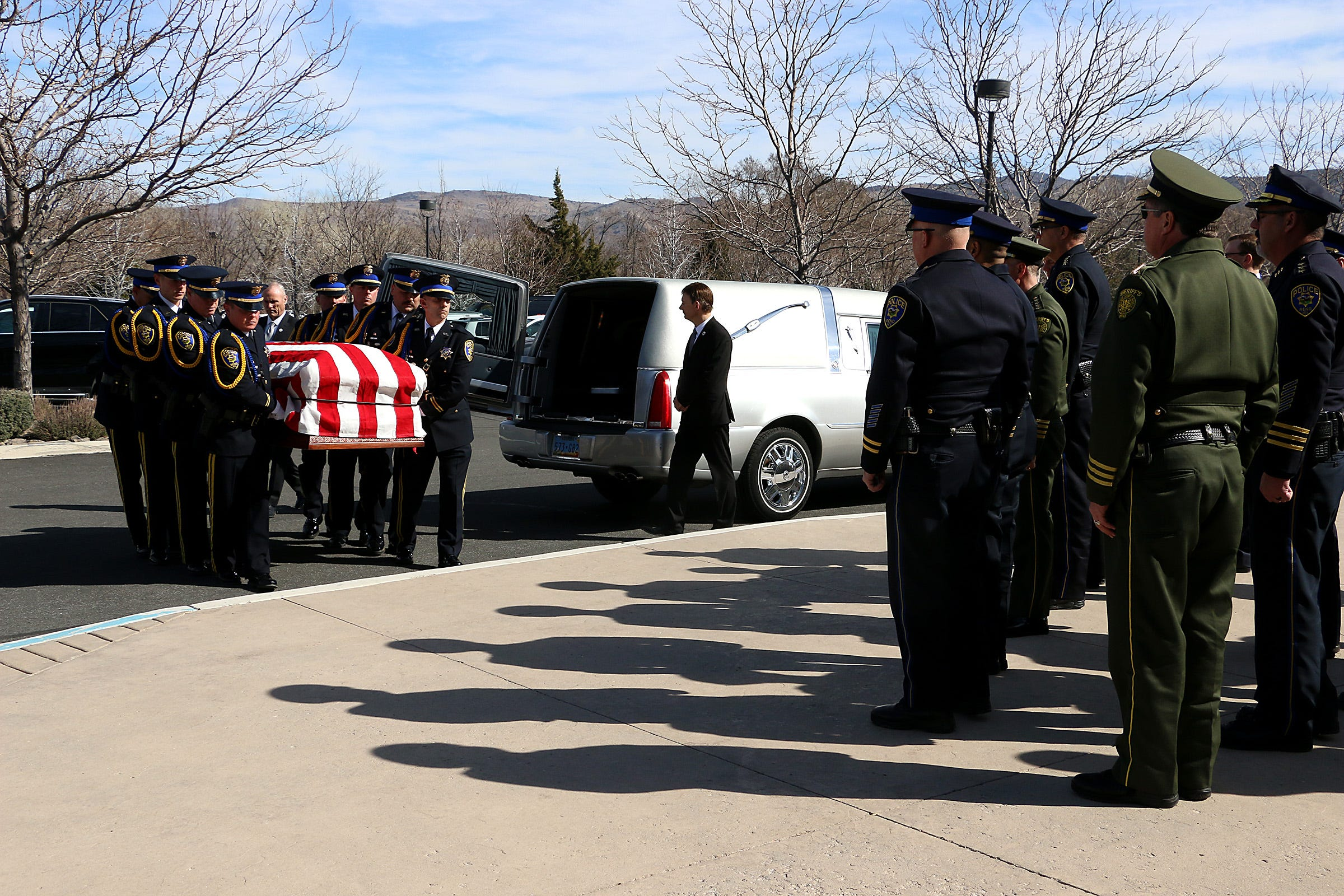 Photos: The funeral for former Reno mayor Bob Cashell