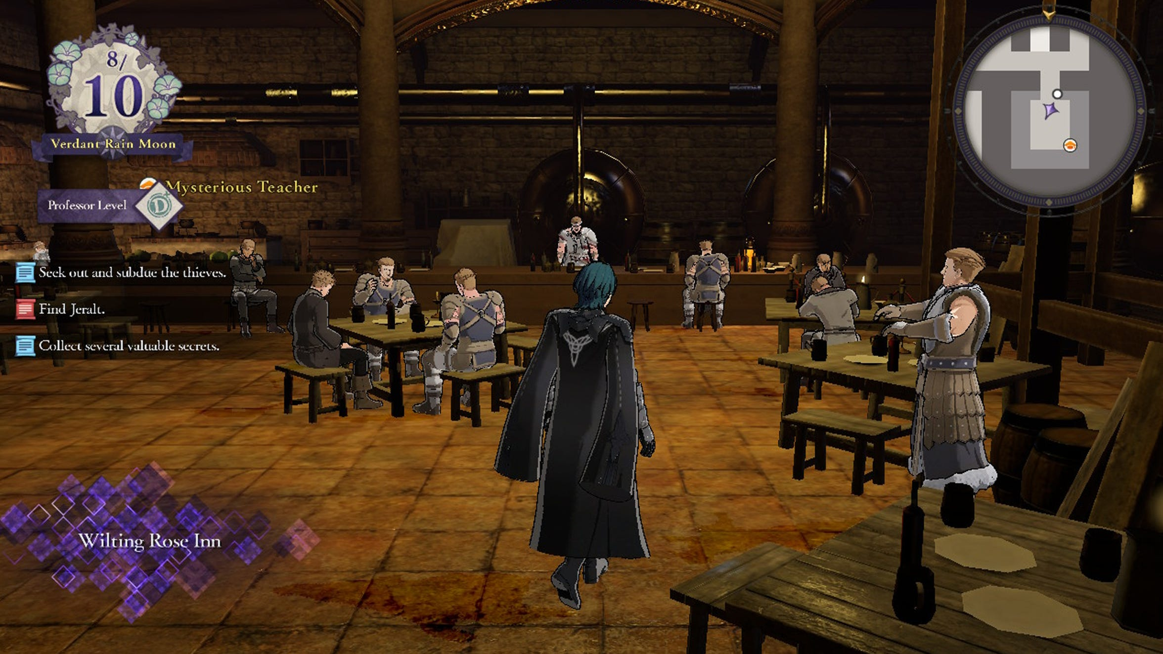 The Wilting Rose Inn in Fire Emblem: Three Houses Cindered Shadows DLC.