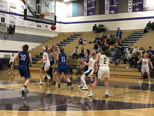 Manogue beat Carson, 43-34 in a girls basketball semifinal on Thursday at Spanish Springs