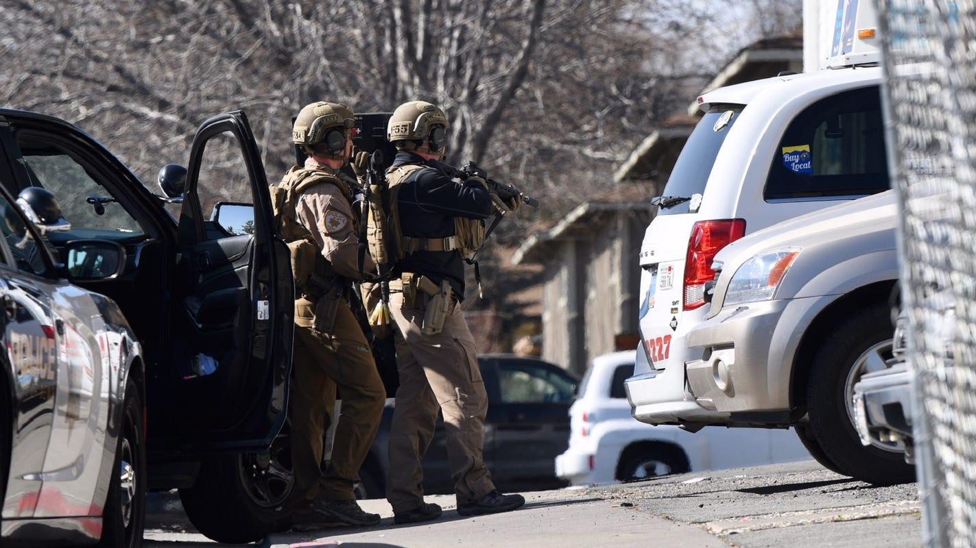 Heavy police presence on Stardust; witnesses report hearing gunfire