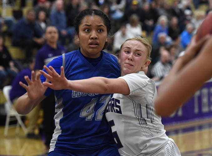 Action photos from the McQueen at Spanish Springs girls basketball playoff game on Thursday Feb. 20, 2020. Spanish Springs defeated McQueen 59-36.