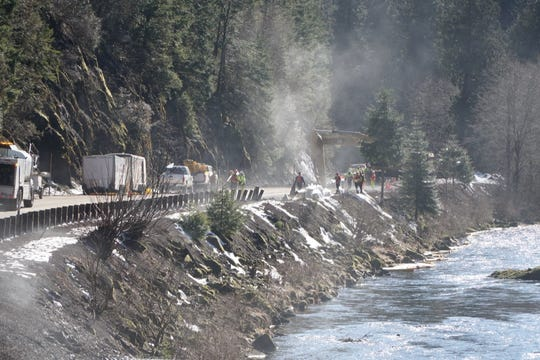 A tanker crash spilled over 8,000 gallons of fuel, some of which made it into the upper North Santiam River.