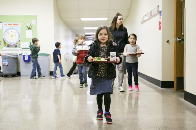 Selected area schools will act as free meal pick-up points on weekdays, to ensure that food-insecure families don't suffer a lack of nutrition options during the school shutdown through March 31.