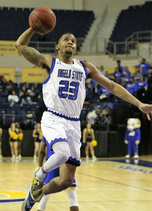 Angelo State University's Collin Turner scored a career-high 44 points, the third-highest in school history, leading the Rams to an 80-73 win against Texas A&M-Kingsville at the Junell Center on Thursday, Feb. 20, 2020.