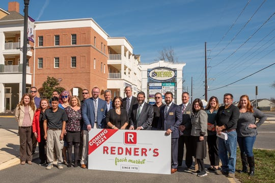 Fernmoor Homes and and Redner's Markets announced Feb. 18, 2020, the lease signing and finalized plans for the opening of a Redner's Fresh Market. The Market will be located within Fernmoor's Vineyards Community in Lewes.