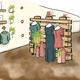 An illustration shows how the interior of Chelsea's Boutique in downtown Sioux Falls will look after its February remodel.