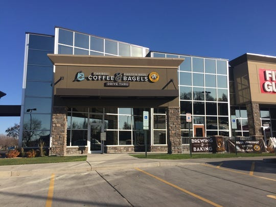 The Caribou Coffee & Einstein Bros. Bagels location at 49th and Louise is temporarily closed after it sustained water damage.