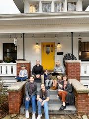 The Jeppsens are (clockwise from upper left) Charlie, Jonny, Jimmy, Jen, Danny, Ally, Molly and Meghan.