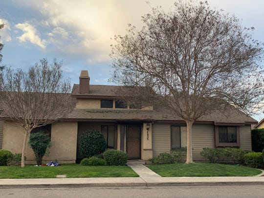 Visalia firefighters were called to a house fire on Thursday, February 21, 2020.