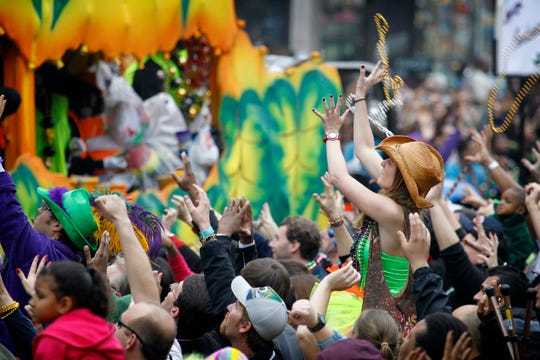 Mardi Gras celebrations are gearing up before Fat Tuesday, the traditional celebration on the day before Ash Wednesday and the start of Lent.