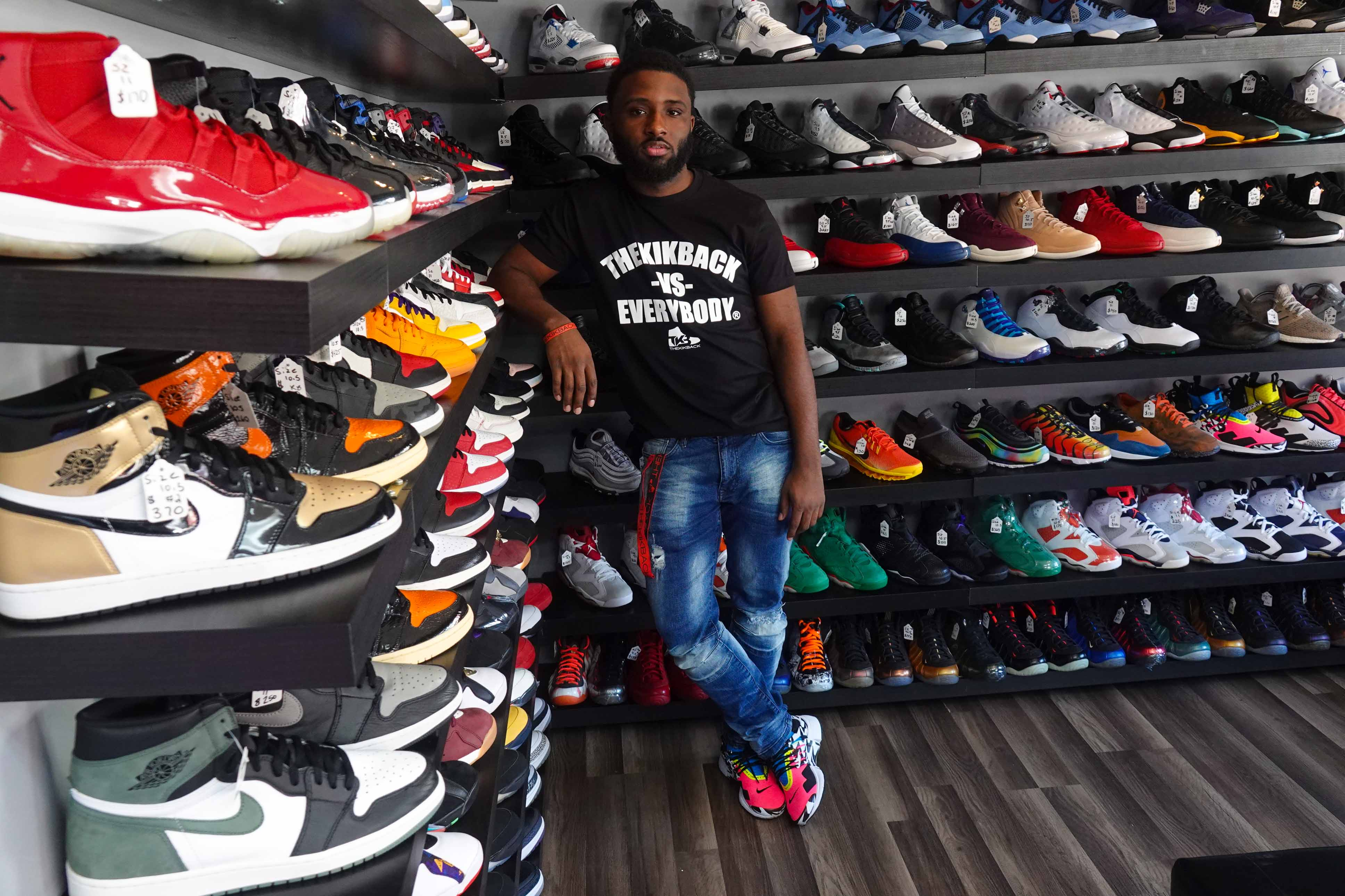 Middletown sneakerhead thrives on the