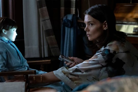 """Katie Holmes stars as a mom who doesn't know what to make of an eerie porcelain doll in """"Brahms: The Boy II."""""""