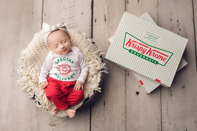 To mark the launch of Krispy Kreme's national doughnut delivery, the company will deliver free doughnuts to hospitals Feb. 29 to celebrate Leap Day babies.