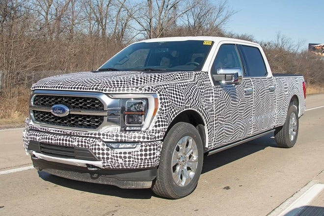 2021 Ford F 150 Spy Photographers Spot First Look At Next Gen Pickup