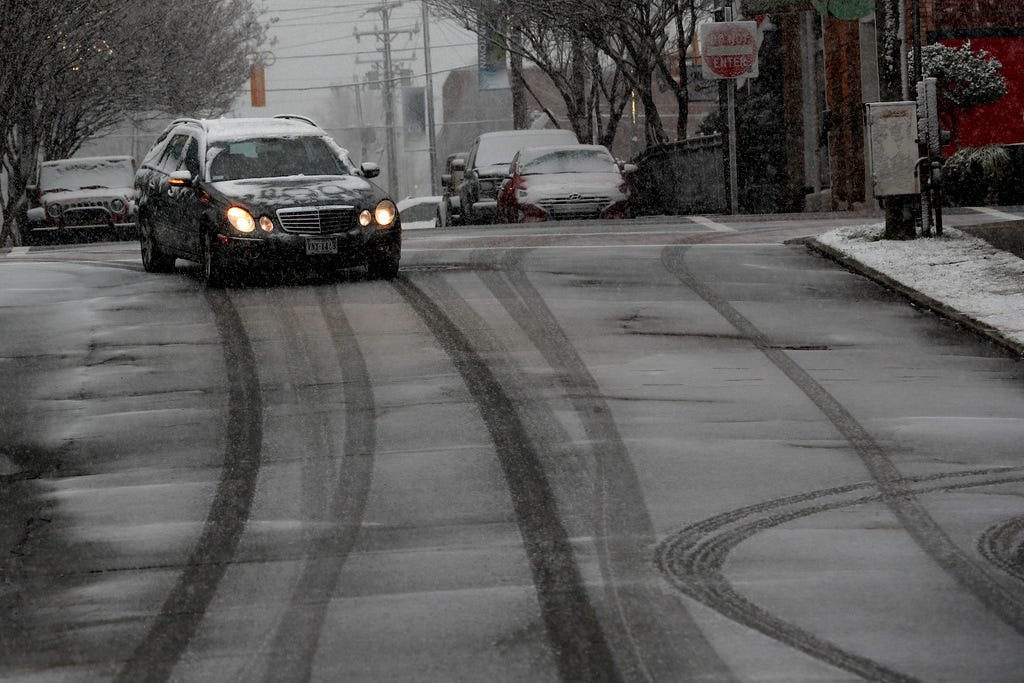 Black ice causing hazardous travel conditions across Southeast in quick-hitting winter storm