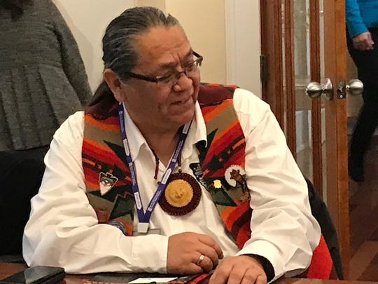 Mathew K.M. Tomaskin of the Yakama Nation in is part of a committee trying to get people in Washington state to respond to the Census.