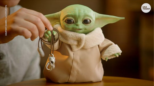 All the 'Baby Yoda' toys 'Mandalorian' fans have been looking for hit New York Toy Fair
