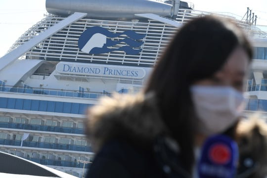 The Diamond Princess' official 14-day quarantine in Yokohama Japan came to an end Wednesday. Many, including 380 Americans have traveled home but face further quarantine.
