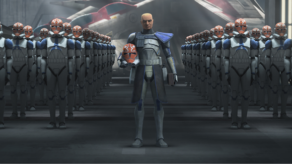 Captain Rex is back with his commando of clones.