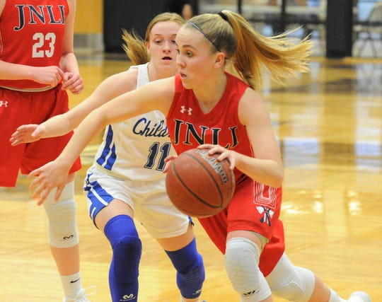 Jim Ned senior Brooke Galvin was a Class 3A all-state selection by the Texas Association of Basketball Coaches and the Texas Girls Coaches Association.