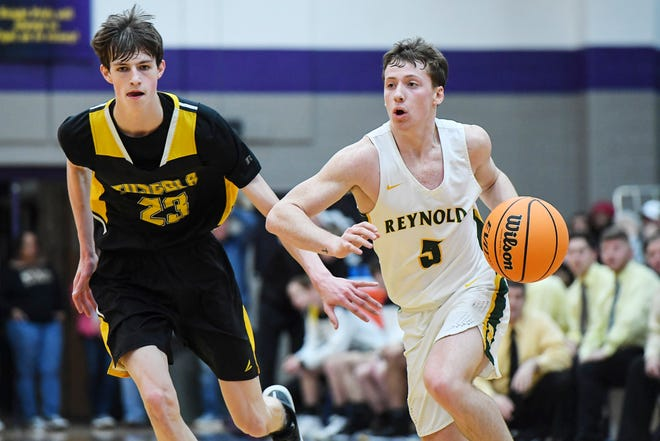 Reynolds defeated Tuscola 60-52 February 21, 2020 at North Henderson High School.