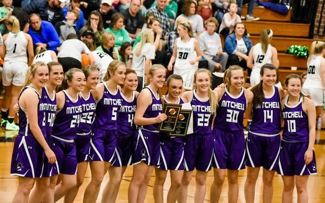 Mitchell girls basketball defeated Mountain Heritage on Friday night in the WHC tournament final