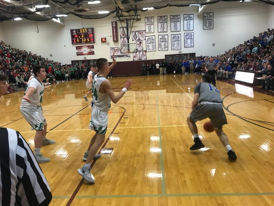 Action from Maine-Endwell vs. Seton Catholic Central, Feb. 21, 2020.