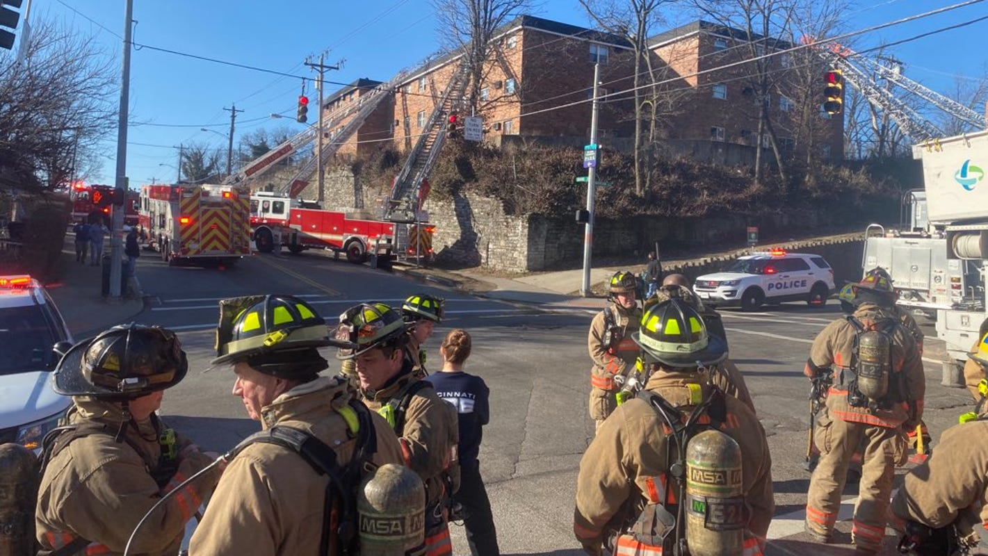 More than half of 44 residents displaced in East Price Hill apartment fire are children