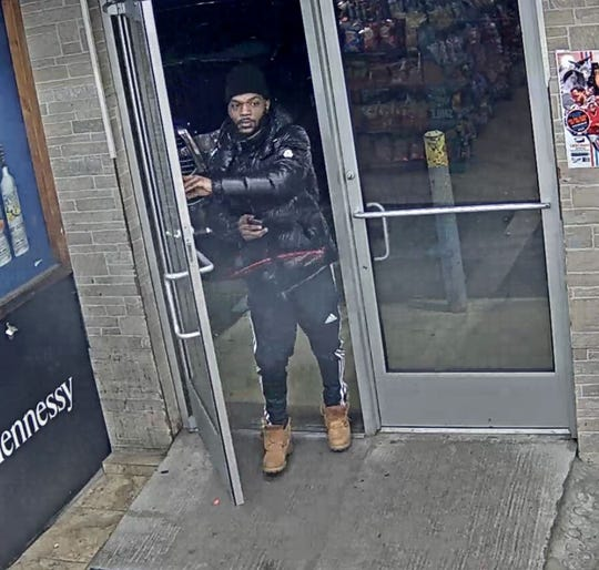 Detroit police seek suspect in non-fatal shooting on city's east side on Dec. 15. 2019.