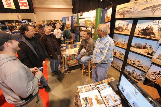 Outdoorama features displays and seminars devoted to hunting and fishing.