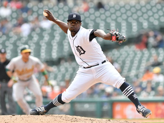Former Tigers pitcher Victor Alacantara was suspended for 80 games for the performance-enhancing substance Stanozolol.