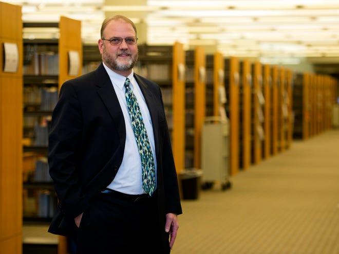 Evansville Vanderburgh Public Library CEO-Director Scott Kinney.
