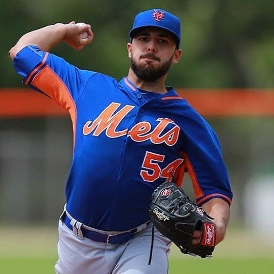 Newburgh resident Casey Delgado, who reached the Double-A level with the Mets, signed with the Evansville Otters.
