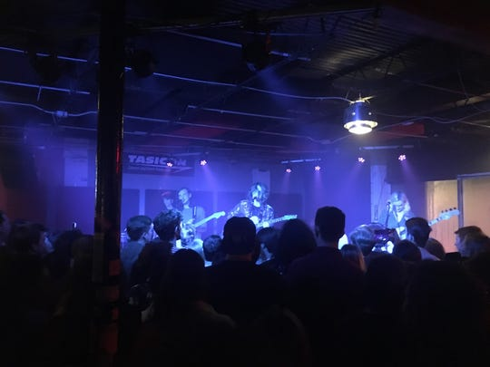 Flipturn performs to a packed house at The Wilbury.