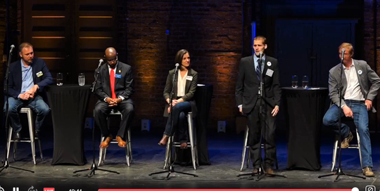 Five Democratic candidates gathered Friday for a forum in Bozeman.