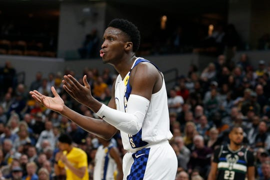 Victor Oladipo is not playing every Pacers game as he recovers from injury.