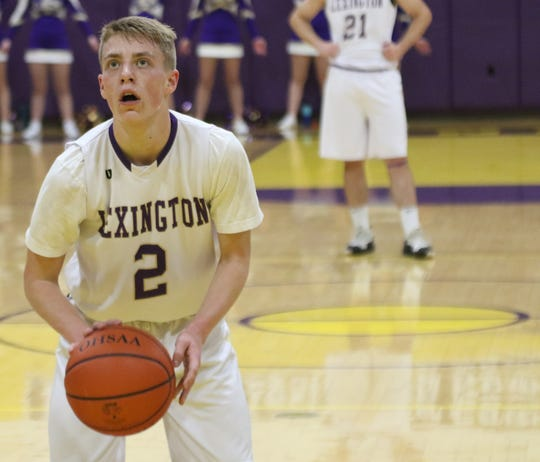 Lexington's Danny Shaffer sparked the Minutemen to a victory over Shelby last week.