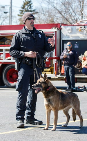 After being with the Menomonee Falls Police Department since Aug. 22, 2011, K-9 officer Tyson retired Feb. 18. Tyson was trained in many areas, including finding missing people, drugs and articles of clothing.