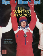 Eric Heiden was on the cover of Sports Illustrated several times.