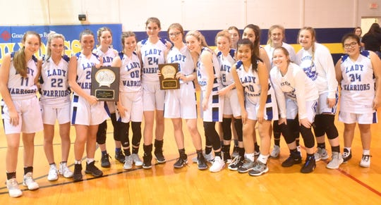 The Cotter Lady Warriors are the 2A-1 Conference champions and district runner-ups.