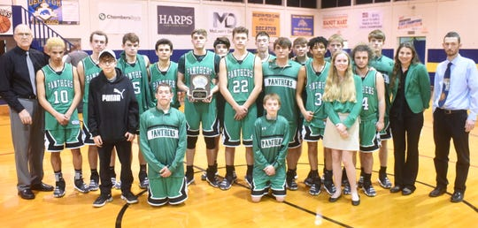 The 2A-1 District runner-up Yellville-Summit Panthers
