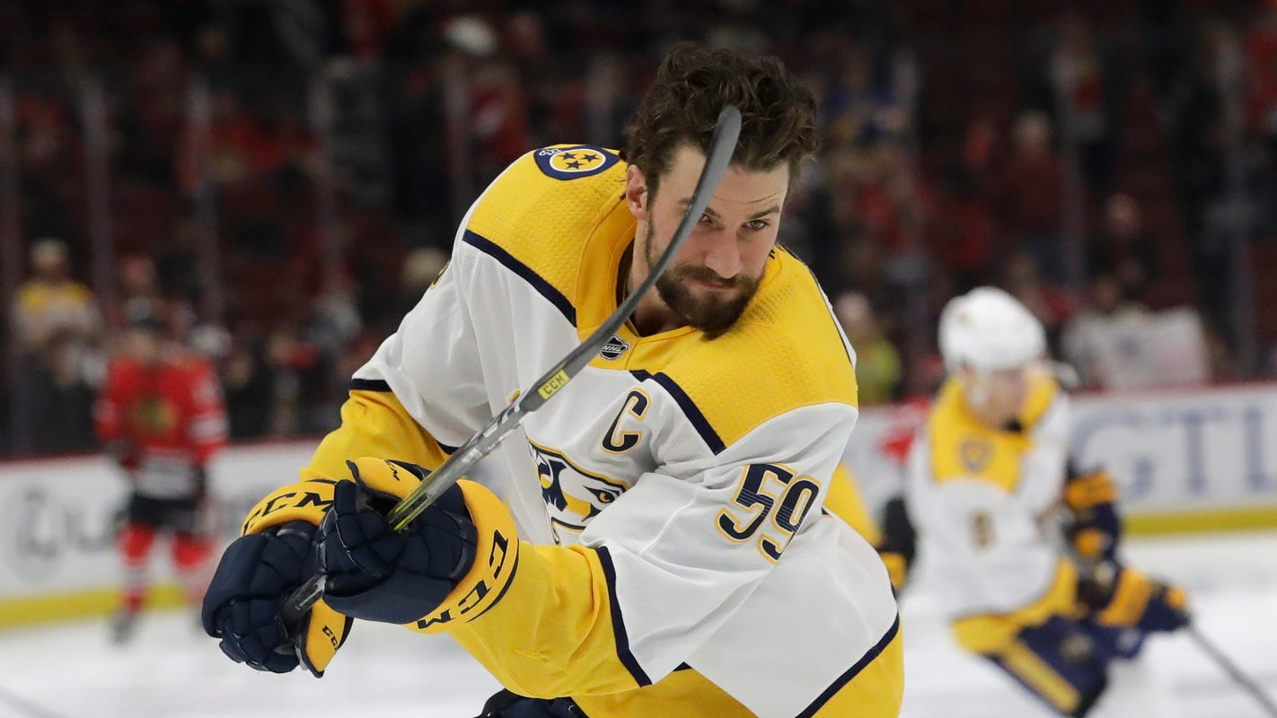 Predators' Roman Josi on being quarantined, playing hockey, Brussels sprouts, 'Tiger King'