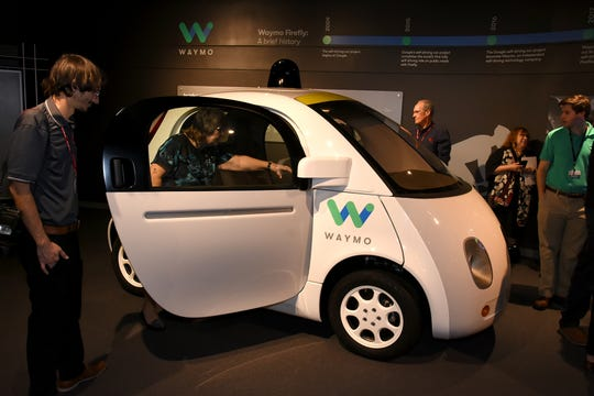 The Revs Institute received a donation from Waymo of one of their first Firefly self-driving cars. It is the world's first autonomous vehicle to drive on public roads.