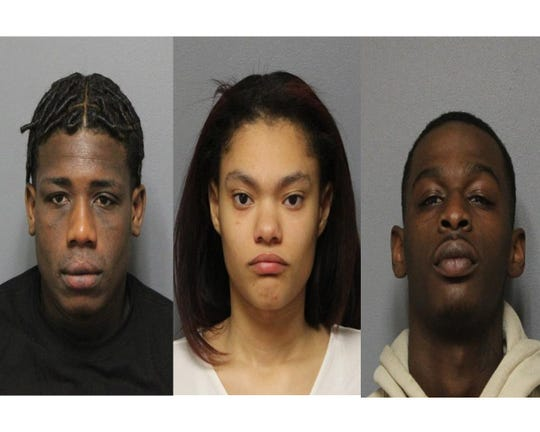 Nasir Clark, Aleena Rivera and Nijel Towns were arrested in relation to a shooting investigation in Paterson.