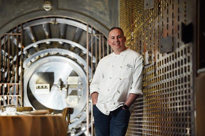 Anthony Bucco nel febbraio 2020, quando era Head Chef/Partner di Villina a Ridgewood.