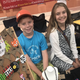 Josh and Kate Chandler, participants in the Cruces Kids Can Jr. Vendor Program, make beaded creations and sell them at the Farmers & Crafts Market of Las Cruces.
