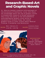 Multiple New Mexico State University departments including anthropology, gender and sexuality studies, art, Creative Media Institute, deans of the College of Arts & Sciences and Honors College invite the NMSU community to a public presentation by Sherine Hamdy Feb. 24.