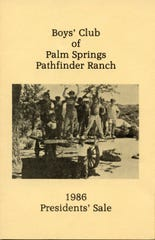 A 1986 brochure for the Pathfinder Ranch.
